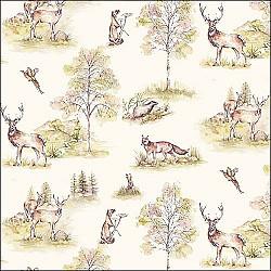 Servetele - Woodland Deer - 33x33cm, 4 buc