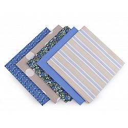 Set 5 materiale textile pentru patchwork, 48x50 cm - Mix-35