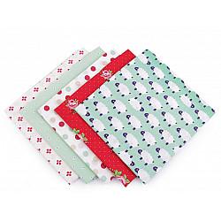 Set 5 materiale textile pentru patchwork, 48x50 cm - Mix-39