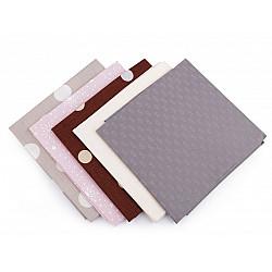 Set 5 materiale textile pentru patchwork, 48x50 cm - Mix-40