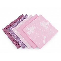 Set 5 materiale textile pentru patchwork, 48x50 cm - Mix-44