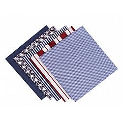 Set 5 materiale textile pentru patchwork, 48x50 cm - Mix-60
