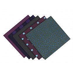 Set 5 materiale textile pentru patchwork, 48x50 cm - Mix-61