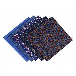Set 5 materiale textile pentru patchwork, 48x50 cm - Mix-67