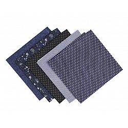 Set 5 materiale textile pentru patchwork, 48x50 cm - Mix-75