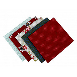 Set 5 materiale textile pentru patchwork, 48x50 cm - Mix-85
