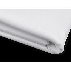 Termocolant cu inserţie de fir KARINA, lățime 90 cm, 25 m - alb