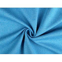 Țesătură Softshell de iarnă, ușor elastică, la metru - albastru