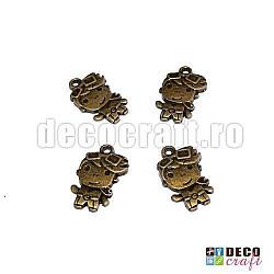 Pandantiv bronz - Baiat 4 buc.