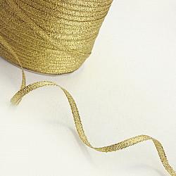 Panglica lame, 3 mm - Auriu