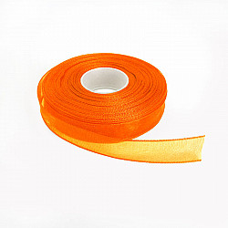 Panglica organza 0.6 cm - Orange