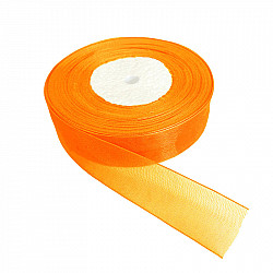 Panglica organza, 2 cm - Orange