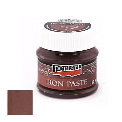 Pasta imitatie fier - Maro-roscat, 50 ml