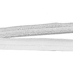 Bias elastic 12 mm - Argintiu