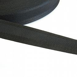 Rejansa fusta, 2.5cm - Negru
