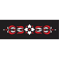 Set sablon 2 culori - Bordura Traditionala 8