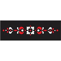 Set sablon 2 culori - Bordura Traditionala 10