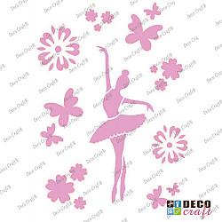 Sablon A4 - Dansul balerinei - 21x29.7 cm