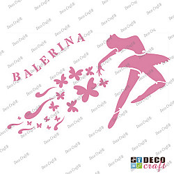 Sablon A5 - Balerina - 14.5x21 cm