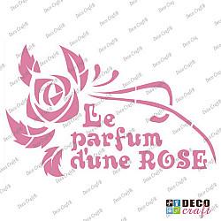 Sablon A5 - Le parfum d\'une ROSE - 14.5x21 cm