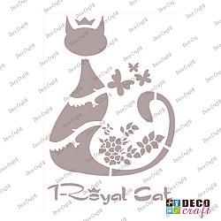 Sablon A5 - Royal Cat - 14.5x21 cm