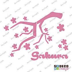Sablon A5 - Sakura - 14.5x21 cm