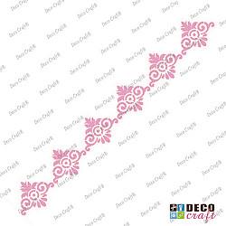 Sablon bordura - Bordura cu stil - 29x7 cm
