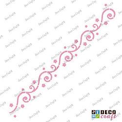 Sablon bordura - Bordura delicata - 29x7 cm