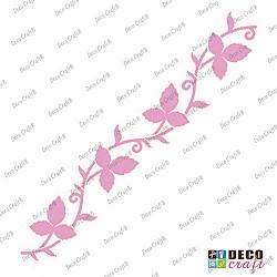Sablon bordura - Pendulul frunzelor - 29x7 cm