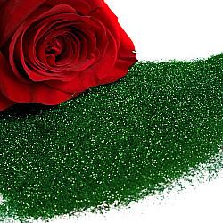 Sclipici fin, 20g - Verde brad