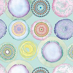 Servetele - Acuarele Cercuri - 33x33cm, 4 buc