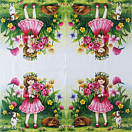 Servetele - Alice - 33x33cm, 4 buc