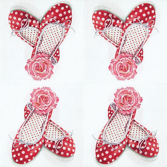 Servetele - Alices Shoes - 33x33cm, 1 pachet (20 buc.)