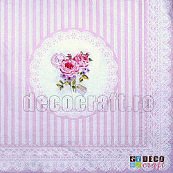 Servetele - Buchet de printesa - 33x33cm, 4 buc.