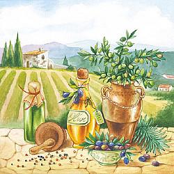 Servetele - Bunatati din Toscana - 33x33cm, 4buc