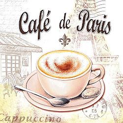 Servetele - Cafe de Paris - 33x33cm, 4 buc.
