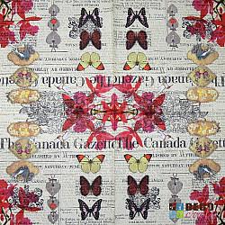 Servetele - The Canada Gazette - 33x33cm, 4 buc