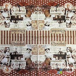 Servetele - Ciocolatieri - 33x33cm, 4 buc.
