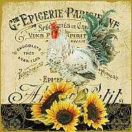Servetele - Cocos & floarea soarelui- 33x33cm, 4 buc.