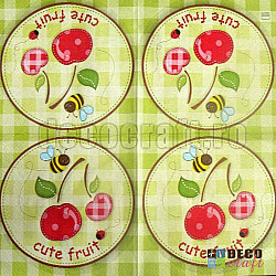 Servetele - Cute Fruit - 33x33cm, 4 buc.