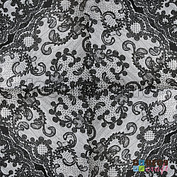 Servetele - Dantela neagra - 33x33cm, 4 buc.