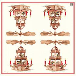 Servetele - Din traditia Craciunului - 33x33cm, 4 buc