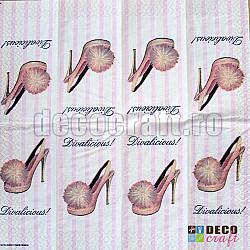 Servetele - Divalicious! - batista, 5 buc.