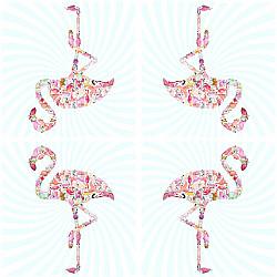Servetele - Flamingo - 33x33cm, 4 buc.