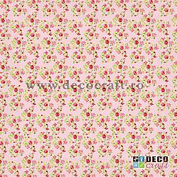Servetele - Flori mici - 33x33cm, 4 buc.
