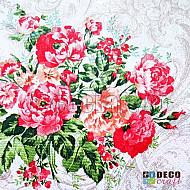Servetele - Flori salbatice - 33x33cm, 4 buc