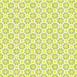 Servetele - Laureen (verde / galben) - 33x33cm, 4 buc.