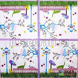 Servetele - Libertatea pisicilor - 33x33cm, 4 buc