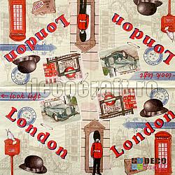 Servetele - Londra in imagini - 33x33cm, 4buc
