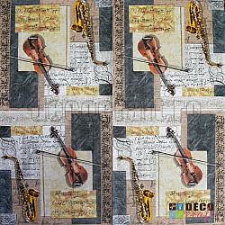 Servetele - Muzica clasica - 33x33cm, 4 buc.